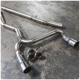 Agency Power Signature Catback Exhaust System for the Ford Focus RS