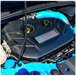 Cal Pony Cars Carbon Fiber Engine Plenum Cover for the Ford Focus RS / ST