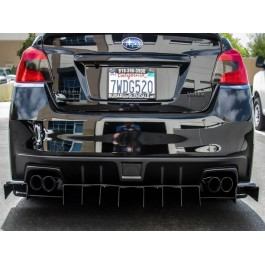 Down Force Solutions V3 Rear Diffuser for the Subaru WRX STI