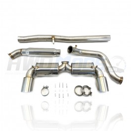 ETS Cat-Back Exhaust System for the Ford Focus RS