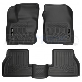 Husky Liners Front & 2nd Seat Floor Liners for the Ford Focus RS