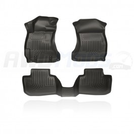Husky Liners WeatherBeater Front & 2nd Seat Floor Liners for the Subaru WRX / STI