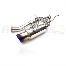 Invidia N1 Dual Titanium Tip Cat-Back Exhaust for the Subaru WRX STI