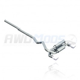 MBRP Cat-Back Exhaust System for the Ford Focus RS