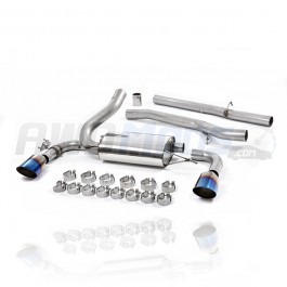 Milltek Sport Non-Resonated Cat-Back Exhaust System for the Ford Focus RS