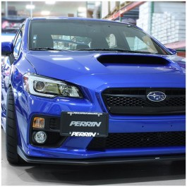 Perrin Performance Front License Plate Relocation Kit for the Subaru WRX / STI