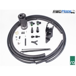 Radium Engineering Air Oil Separator Kit for the Subaru WRX STI