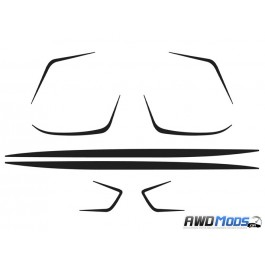 Revo Designs Full Body Accent Kit for the Ford Focus RS (Set of 6)