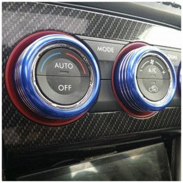 SMY Performance Climate Control Knobs for the Subaru WRX STI