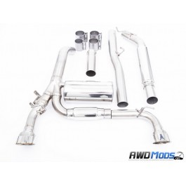 Thermal R&D Cat Back Exhaust System for the Ford Focus RS