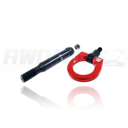 Torque Solutions Billet Rear Tow Hook for the Subaru WRX / STI