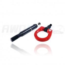 Torque Solutions Billet Rear Tow Hook for the Subaru WRX / STI