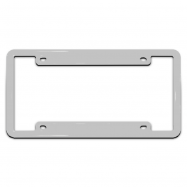 Personalized License Plate Frame Designer with Customizable Color & Text