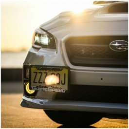 Grimmspeed License Plate Relocation Kit for the Subaru WRX / STI