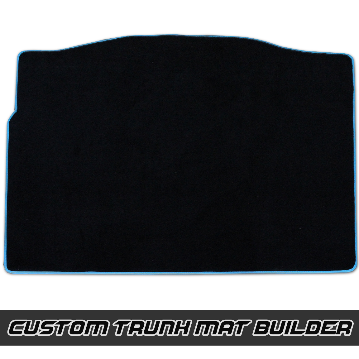VelourTex Fitted Carpeted Trunk Mat for the Ford Focus RS / ST