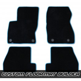 VelourTex Fitted Carpet Floor Mats for the Ford Focus RS / ST (Set of 4)