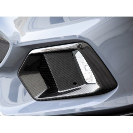 Seibon Carbon Fiber Fog Light Bezels for the Ford Focus RS (Set of 2)