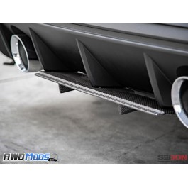 Seibon SA Style Carbon Fiber Rear Lip for the Ford Focus RS