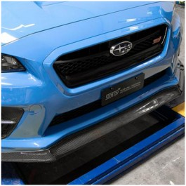 Seibon MB1 Style Carbon Fiber Front Lip for the Subaru WRX / STI