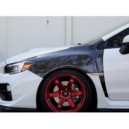 Seibon OEM Style Carbon Fiber Fenders for the Subaru WRX / STI (Pair)