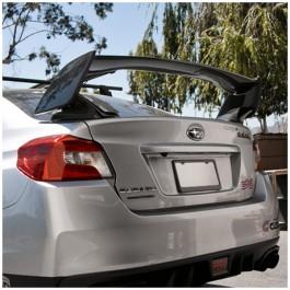 Seibon STI Style Carbon Fiber Spoiler for the Subaru WRX / STI