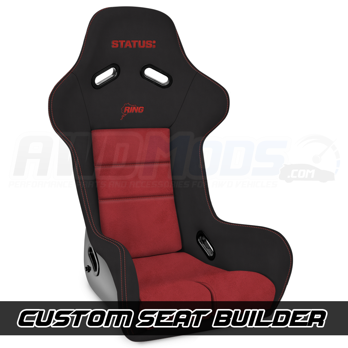 Status Racing Ring FRP Seat for the Ford Focus RS (Single)