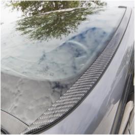 Tufskinz Peel & Stick Carbon Fiber Windshield Trim Accent Kit for the Ford Focus RS / ST (Set of 2)