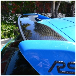 Tufskinz Peel & Stick Carbon Fiber Rear Wing Accent Kit for the Ford Focus RS