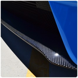 Tufskinz Peel & Stick Carbon Fiber Front Splitter Accent Kit for the Ford Focus RS