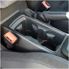 Tufskinz Peel & Stick Carbon Fiber Center Console Accent Kit for the Ford Focus RS / ST