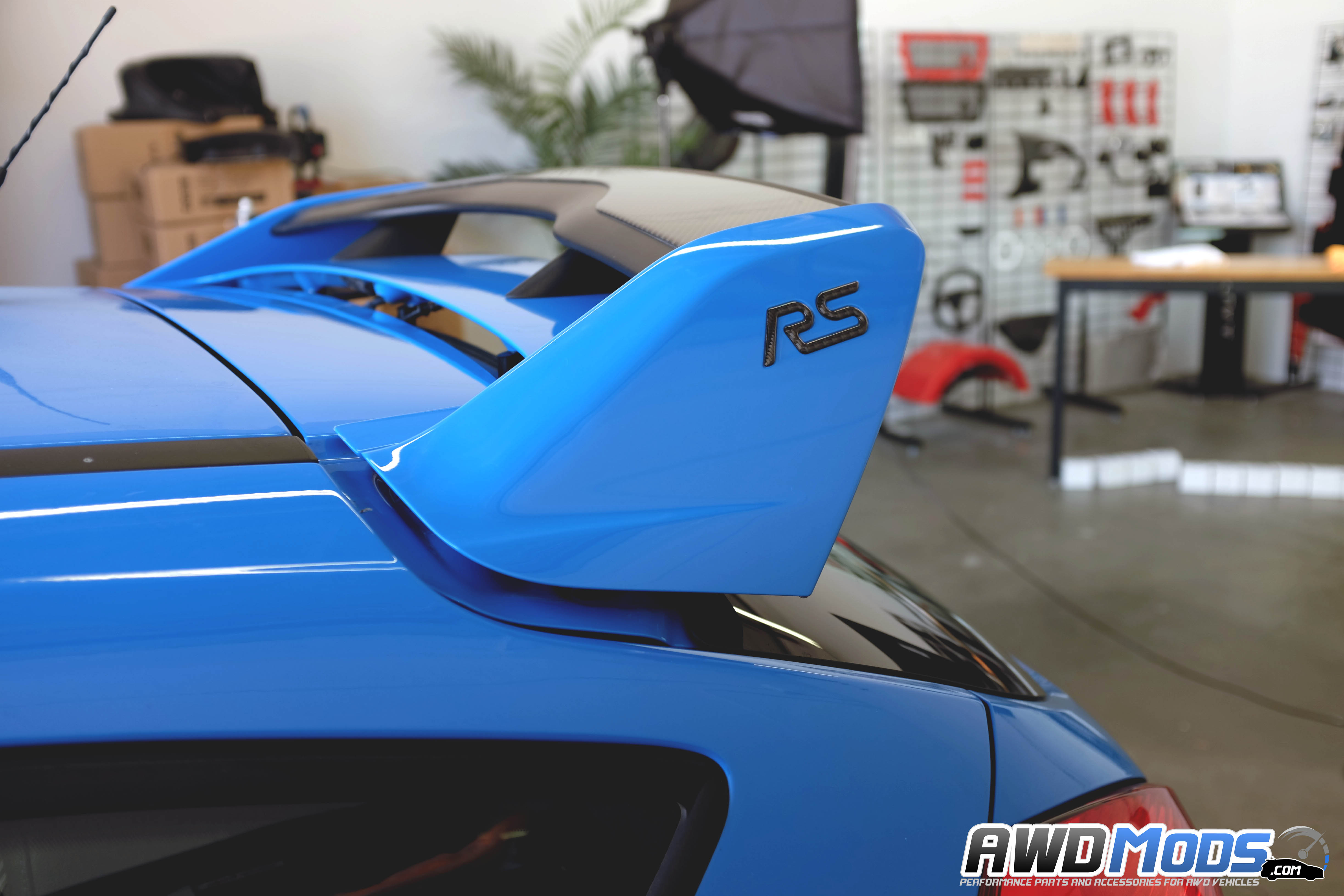 Used Ford Focus St For Sale >> Ford Focus RS / ST Rear Spoiler Riser Kit by Agency Power