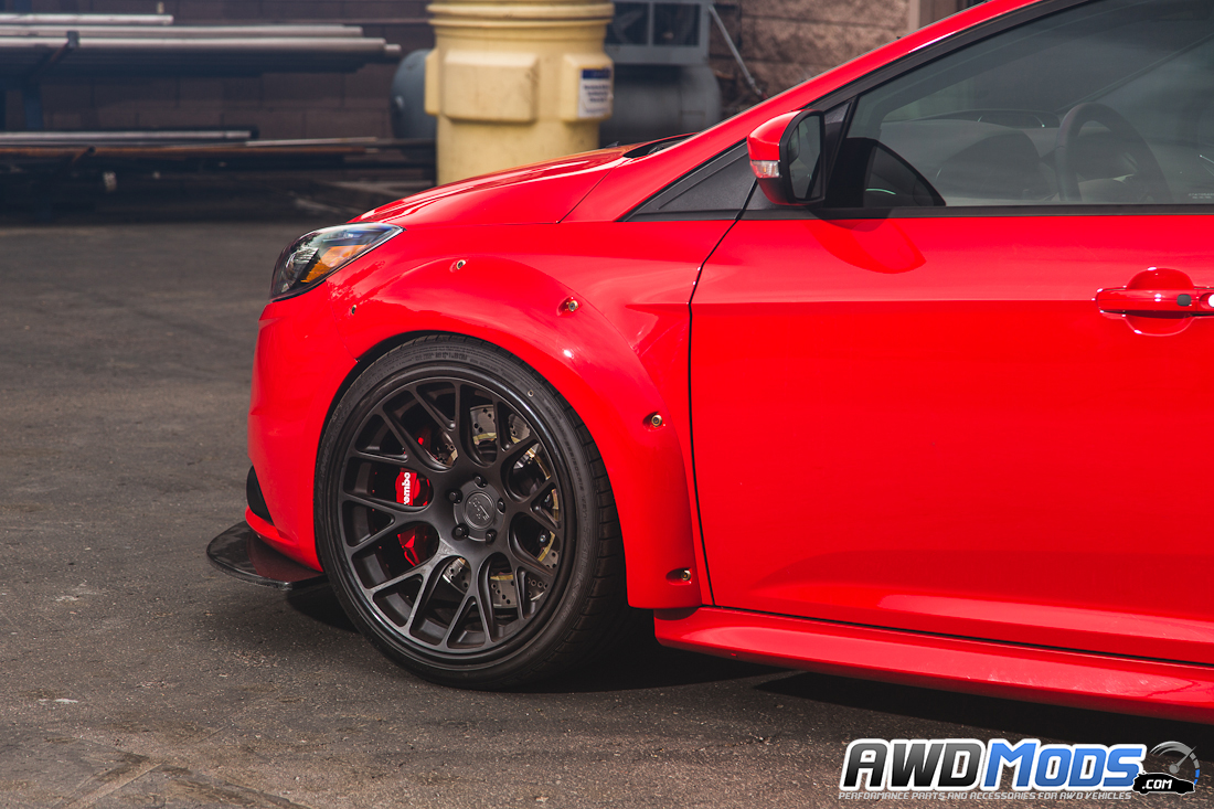 Ford Focus St Widebody Fender Flare Kit By Agency Power Fuse Box Cover For The