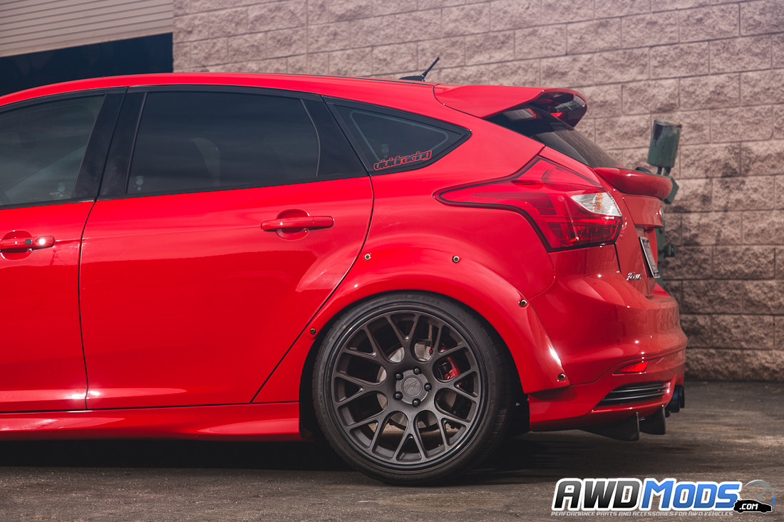 Ford Focus ST Widebody Fender Flare Kit by Agency Power