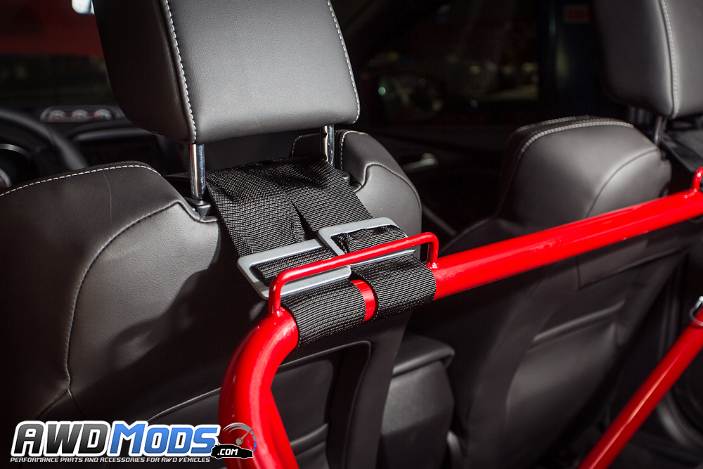 Ford Focus Rs St Bolt In Racing Harness Bar By Agency Power