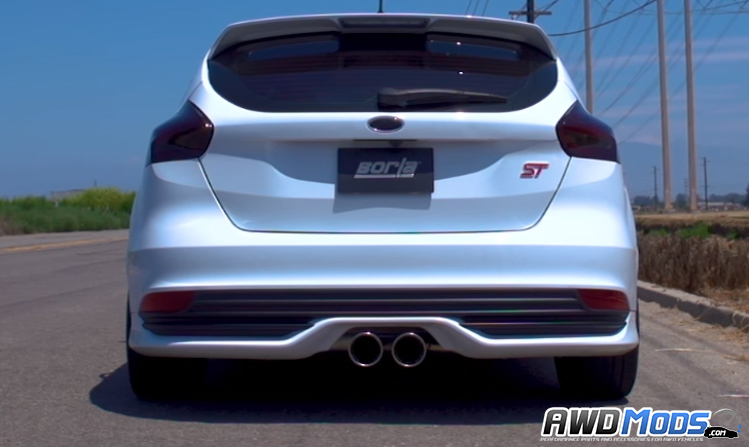 ford focus st s type catback exhaust system by borla. Black Bedroom Furniture Sets. Home Design Ideas