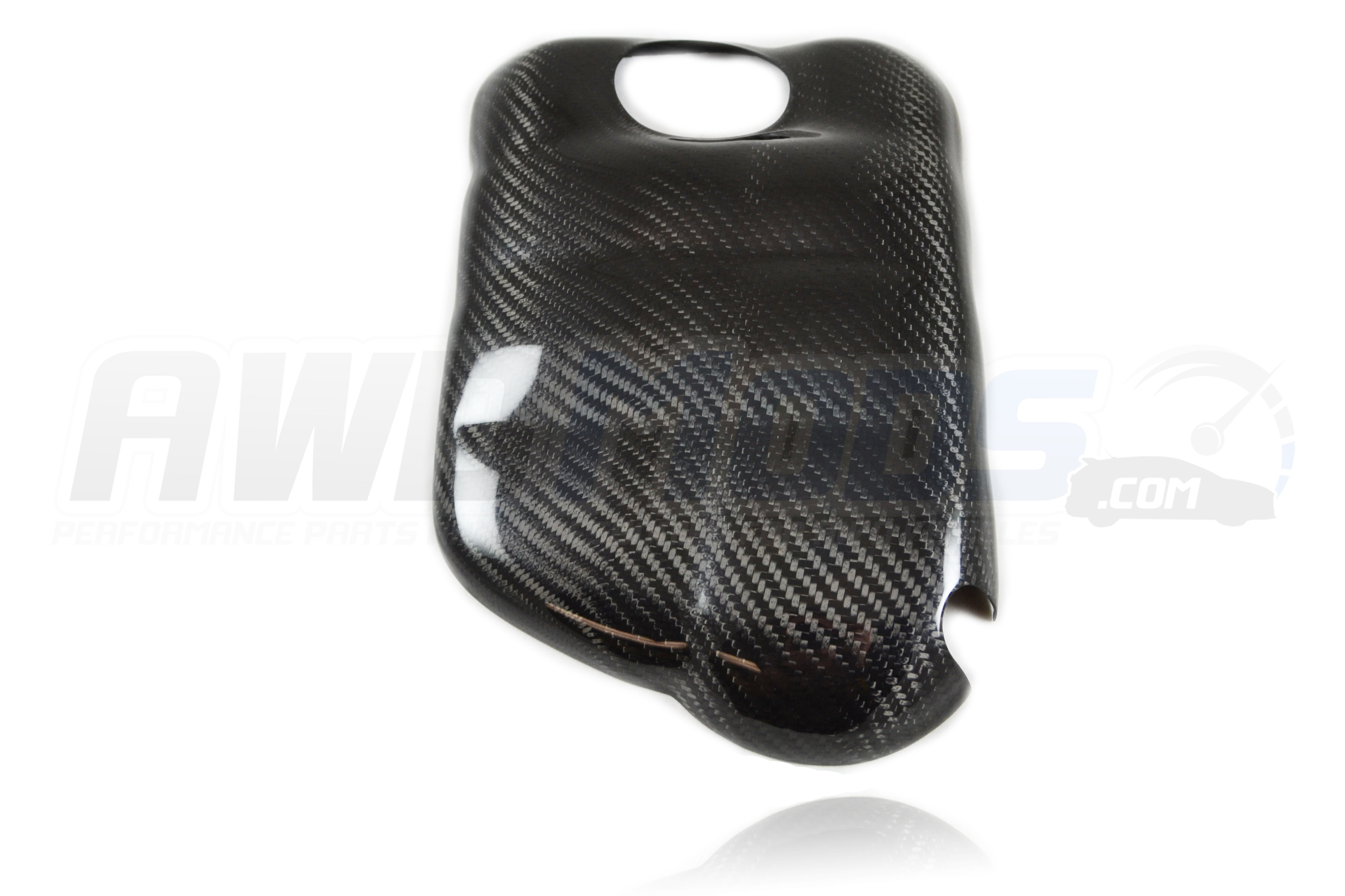 Ford Focus Rs St Carbon Fiber Coolant Tank Cover From Cal Pony Cars Sti Fuse Box For The