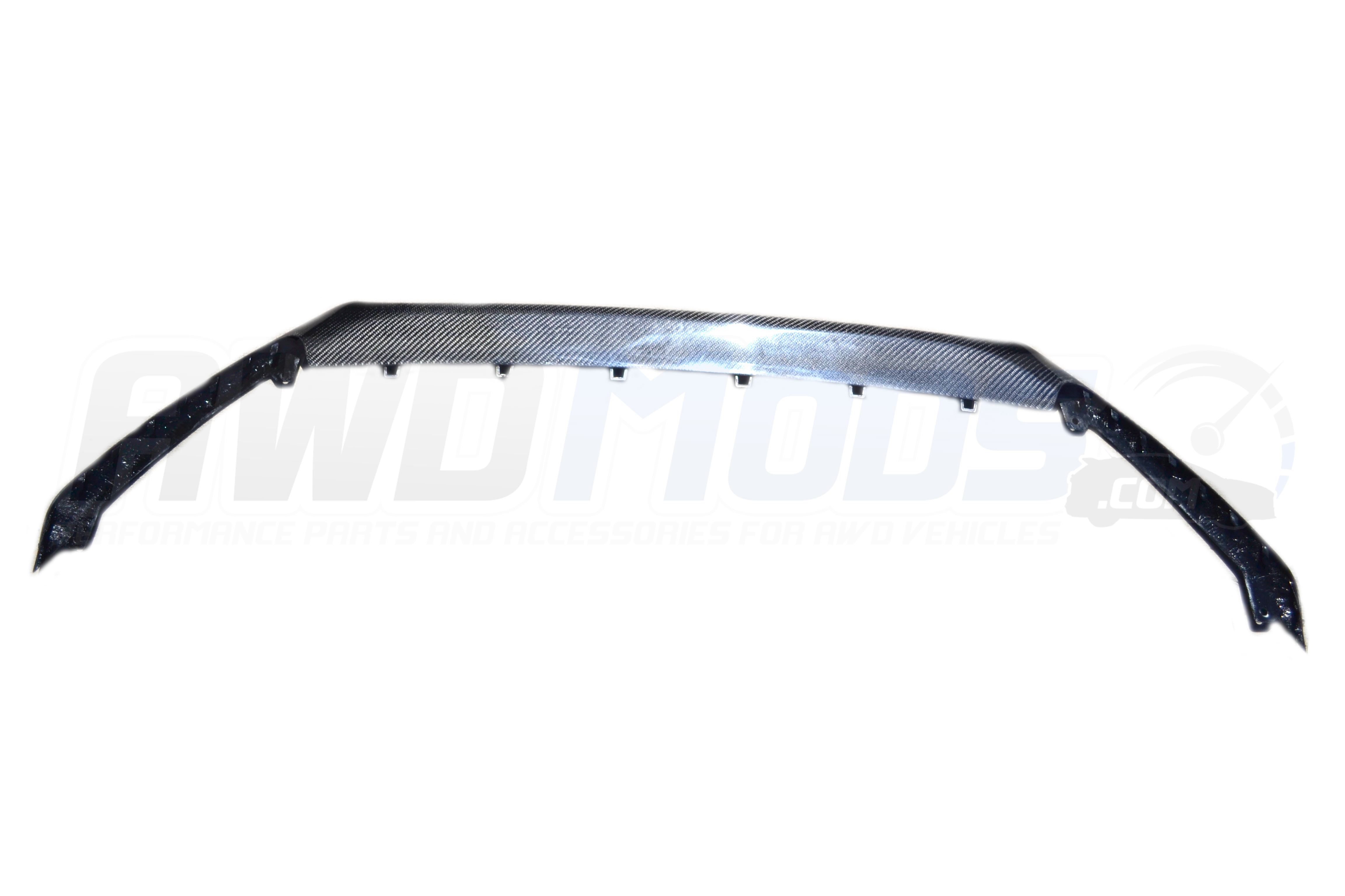 Ford Focus Rs Carbon Fiber Chin Spoiler From Cal Pony Cars Mustang Fuse Box Cover For The
