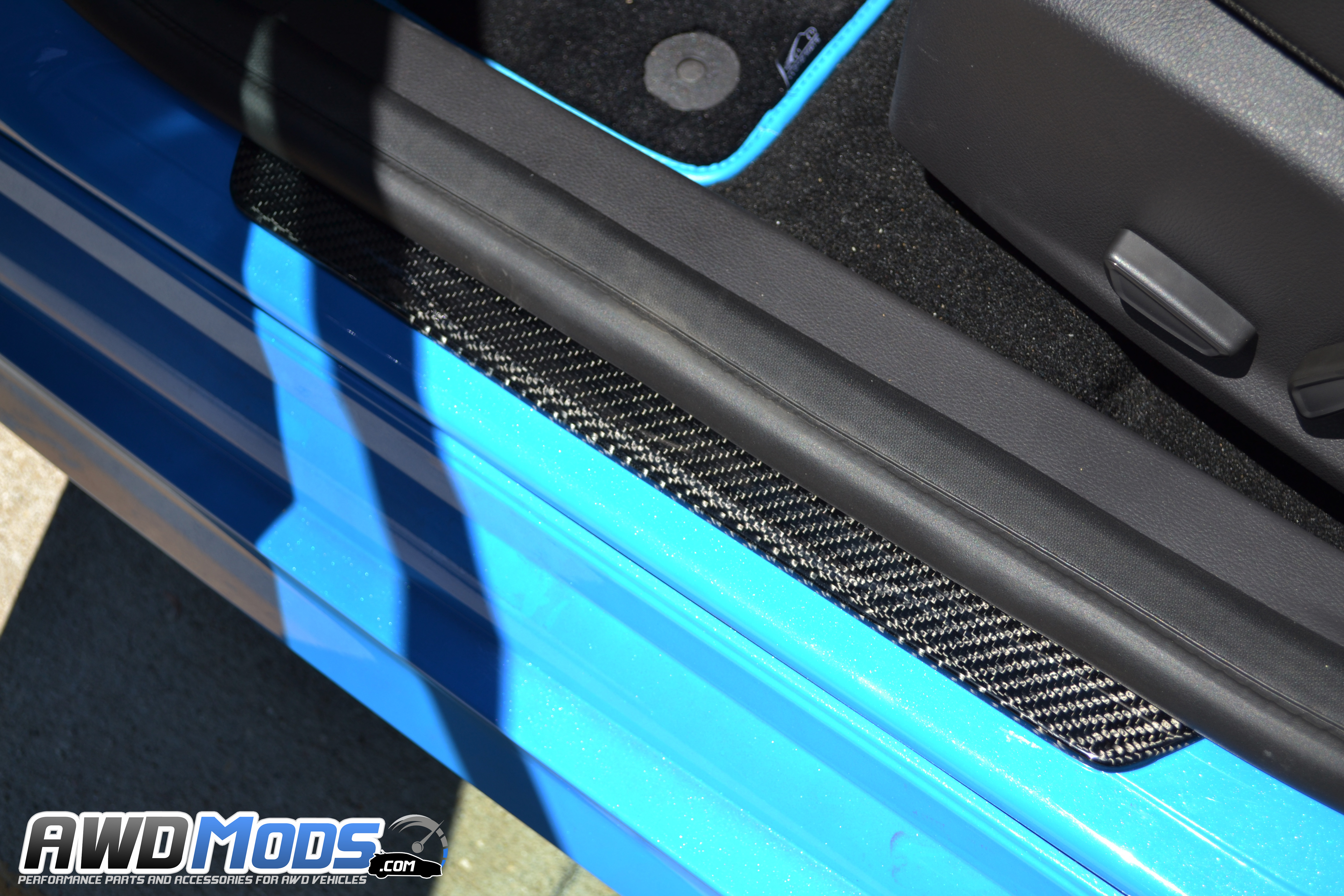 ford focus rs st carbon fiber door sill plates by cal. Black Bedroom Furniture Sets. Home Design Ideas