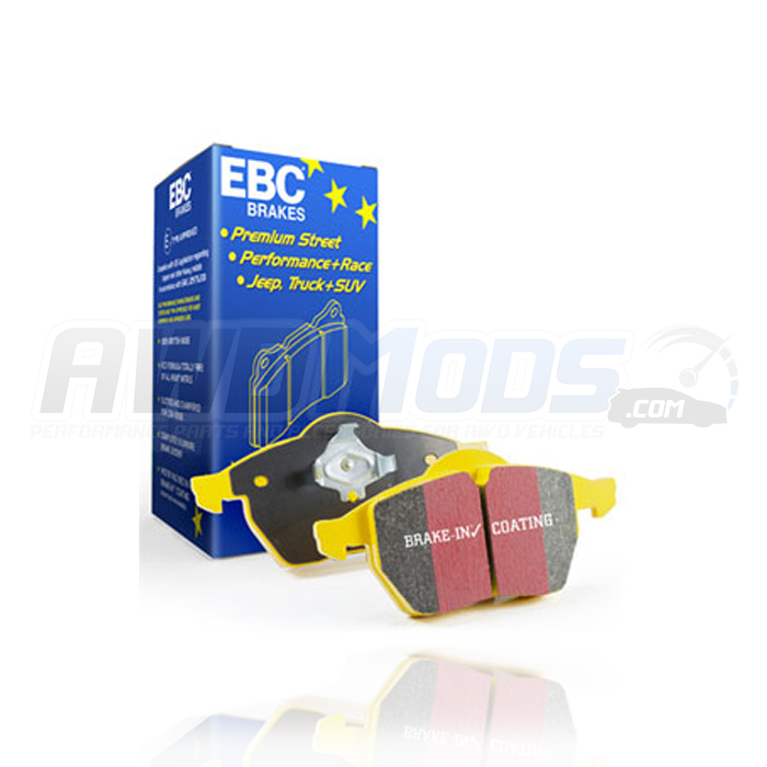 ford focus rs yellow stuff front brake pads by ebc. Black Bedroom Furniture Sets. Home Design Ideas