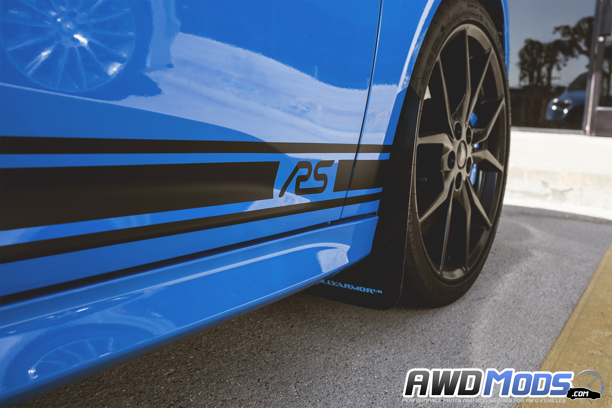 Ford Focus Rs St Rocker Stripes Decal Kit By Revo Designs