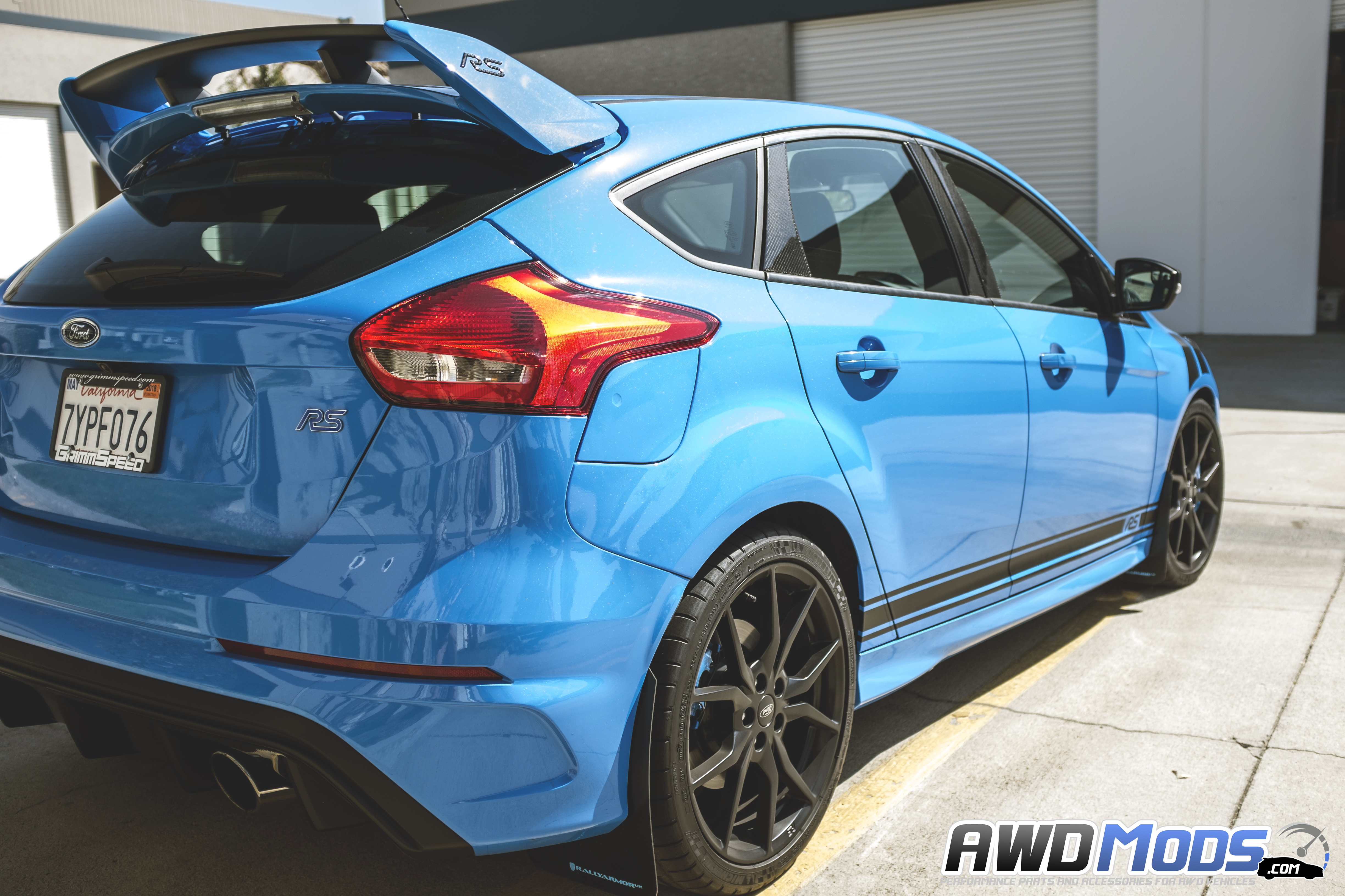 Revo designs rocker stripes decal kit for the ford focus rs st set of