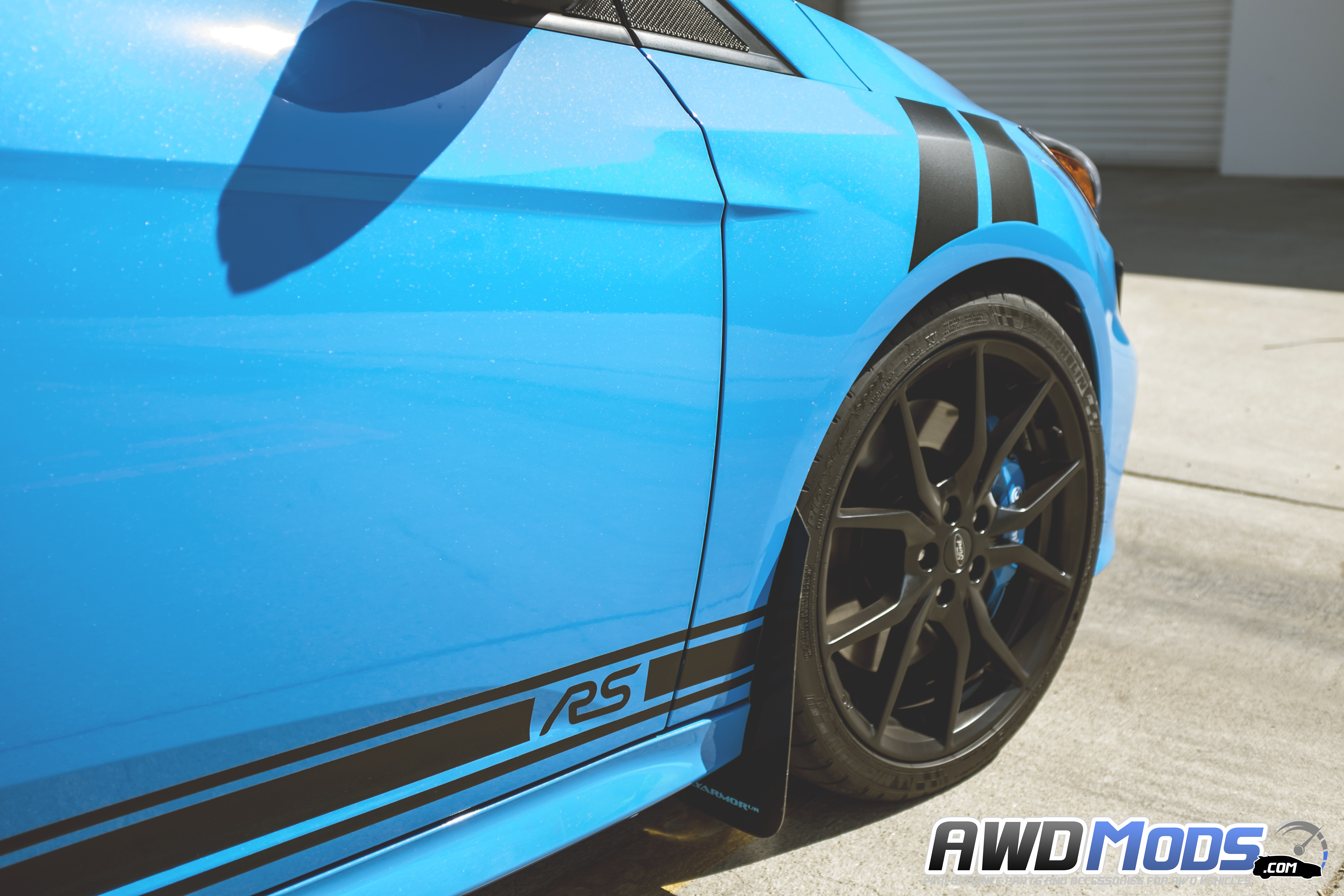 Revo designs fender stripes decal kit for the ford focus rs st set of