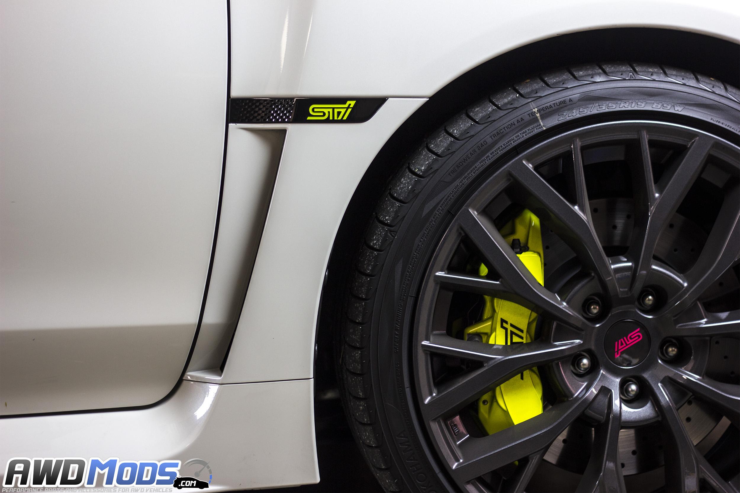 Used Subaru Wrx Sti >> SMY Performance Fender Badge Ornament Set for the Subaru ...