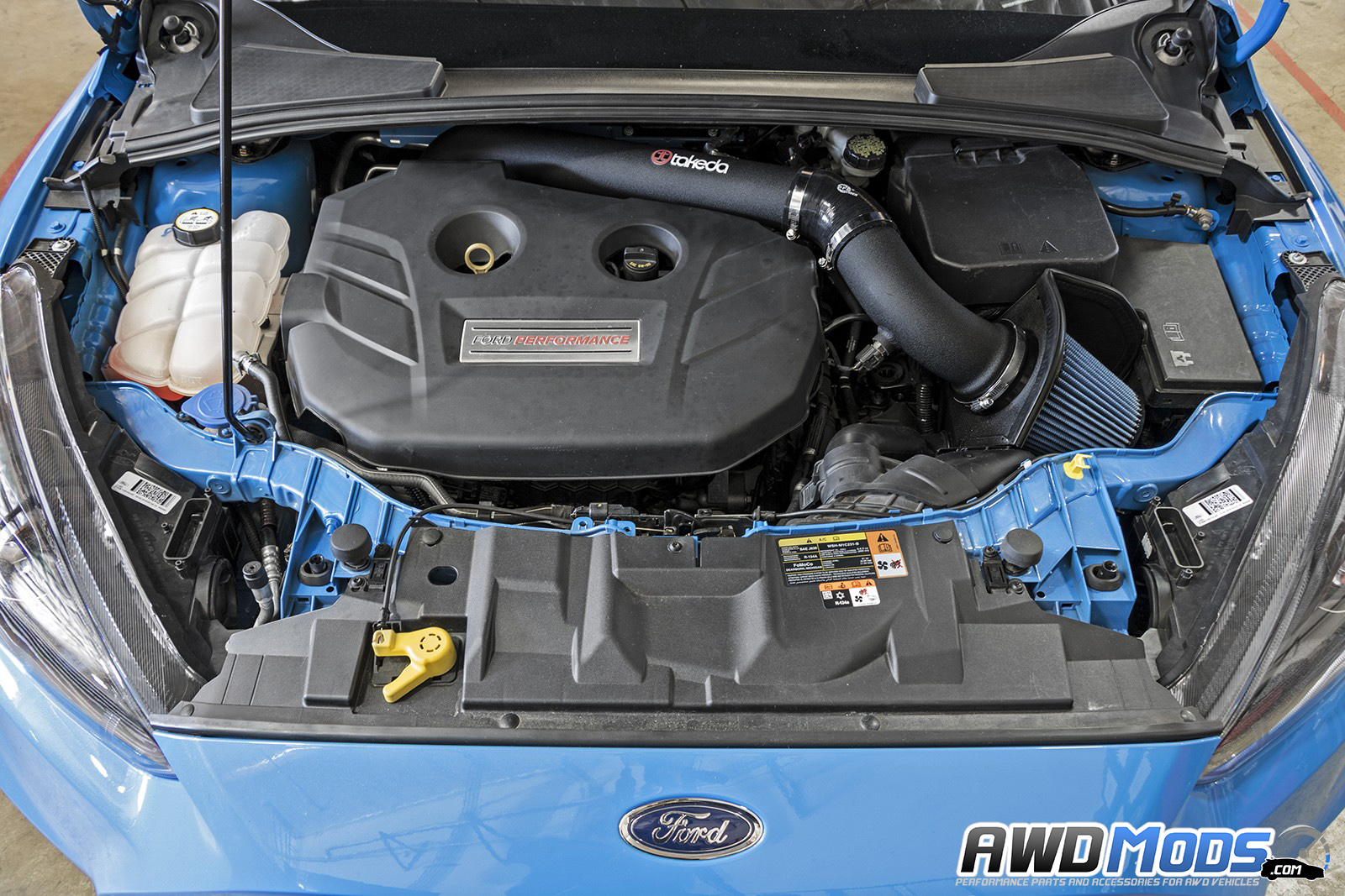 ford focus rs stage 2 cold air intake by afe power rh awdmods com Ford Focus Fuse Box Diagram 07 Ford Focus Fuse Box