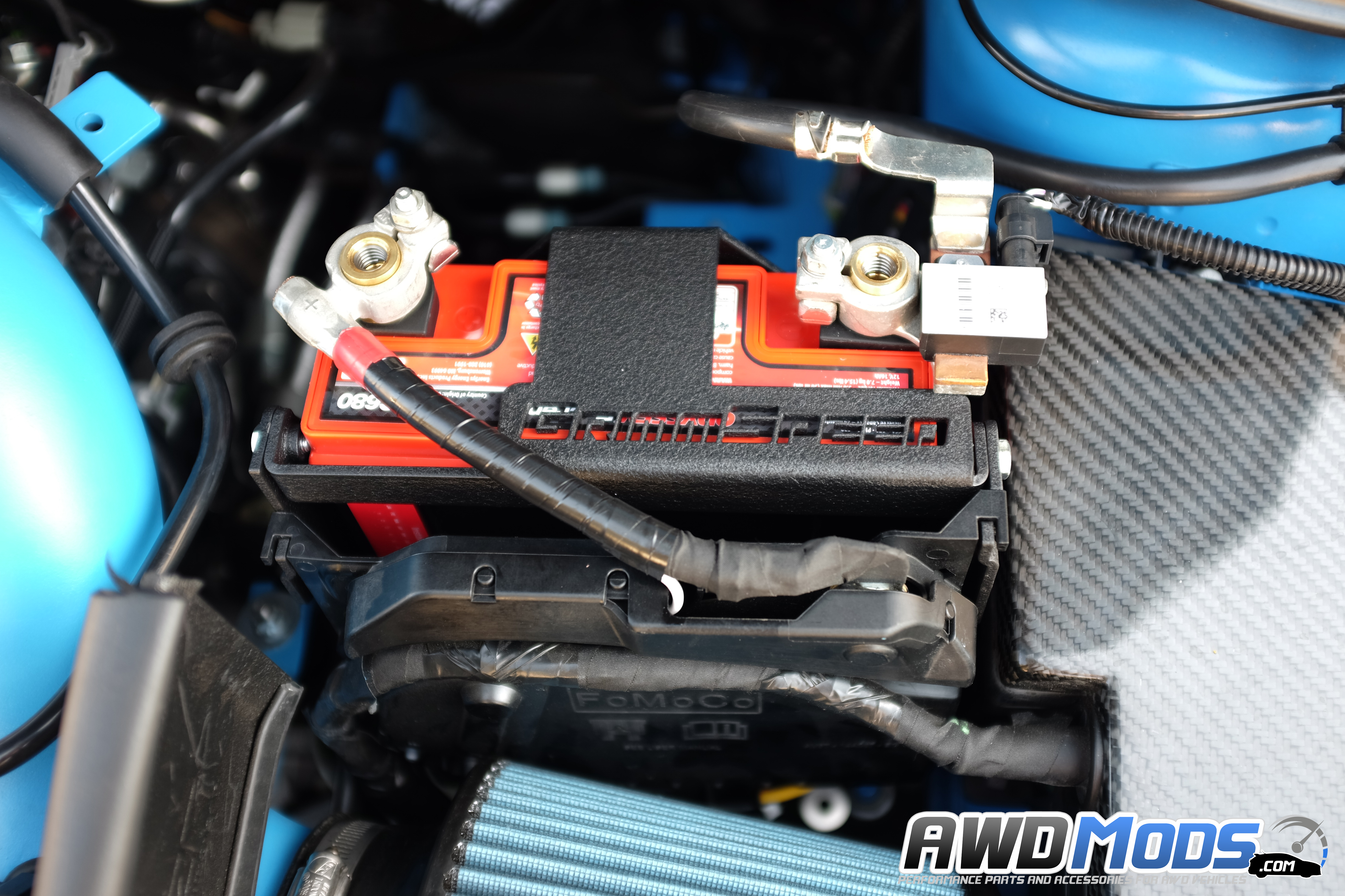 Grimmsd Lightweight Battery Mount Kit For The Ford Focus Rs St