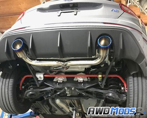 ford focus rs performance cat back exhaust system by injen rh awdmods com 2010 Ford Focus Fuse Diagram 2006 Ford Fuse Box Diagram