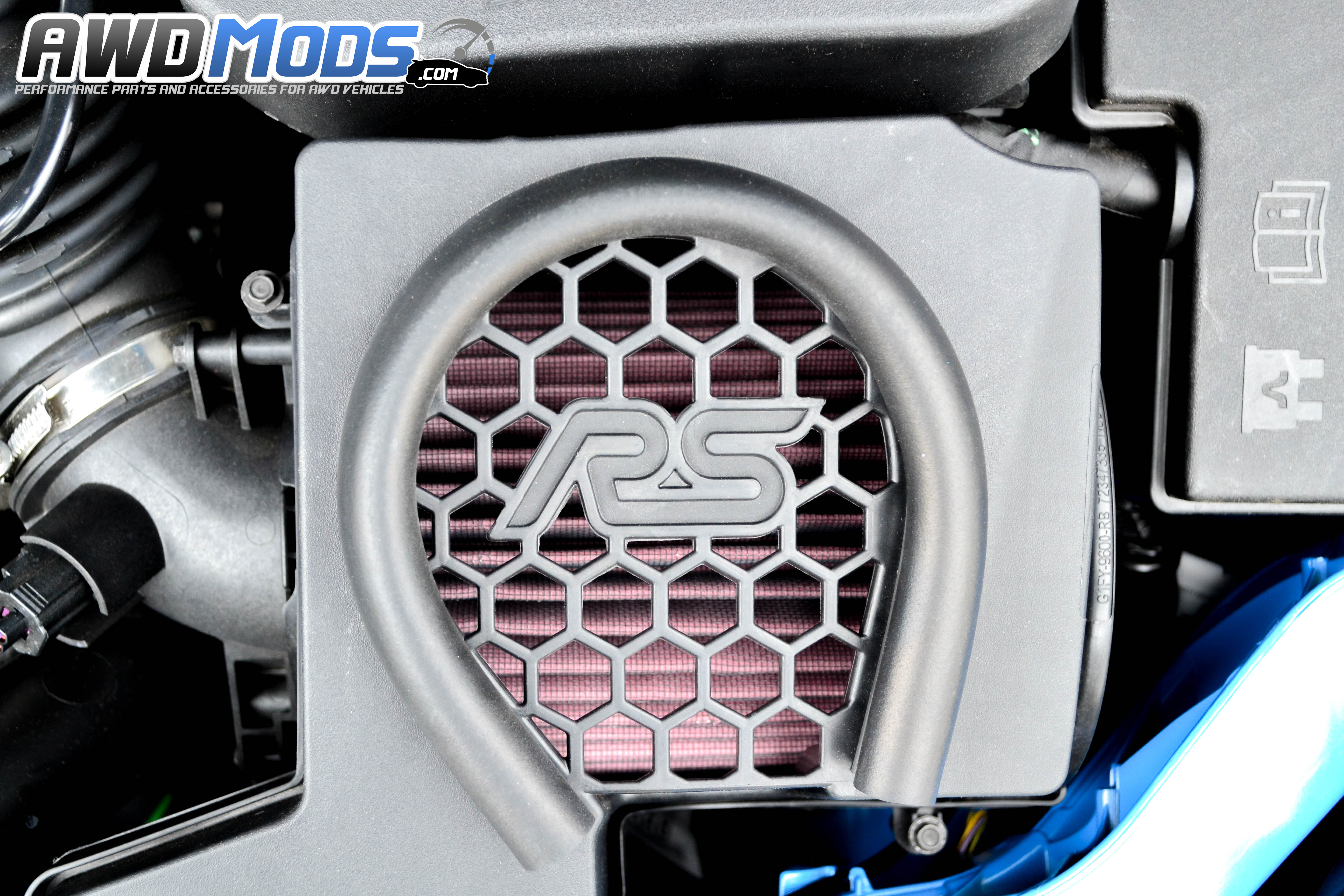 ford focus rs drop in replacement high flow air filter by k n rh awdmods com