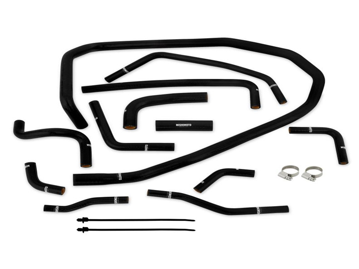 subaru wrx silicone ancillary hose kit from mishimoto