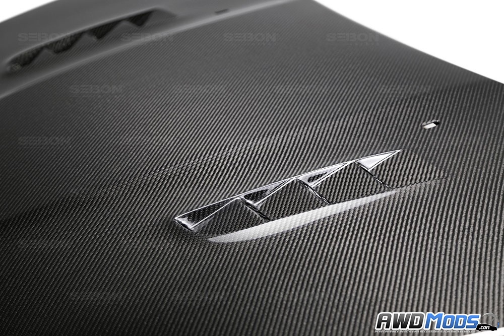 Ford Focus Rs Carbon Fiber Hood By Seibon