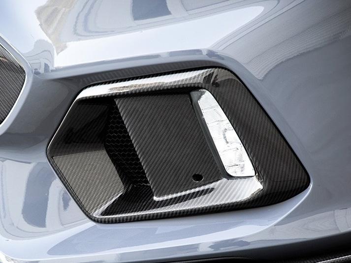 Seibon Carbon Fiber Fog Light Bezels For The Ford Focus Rs Set Of 2